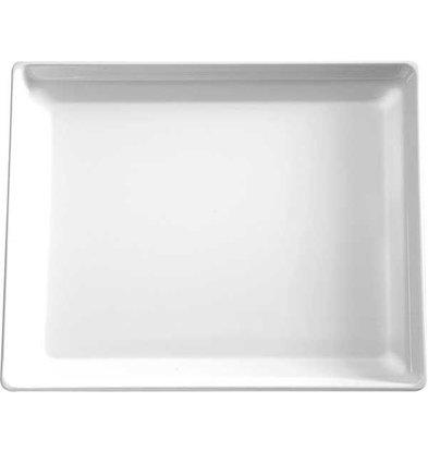 APS Presentation Scale | GN 1/2 | Melamine White | Dishwasher-safe | 325x265 (h) 30 mm