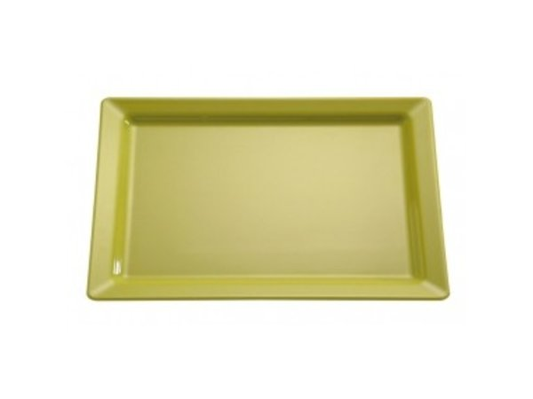 APS Scale Pure | Rectangle | Melamine Green | GN 1/2 | 325x265 (H) 30mm