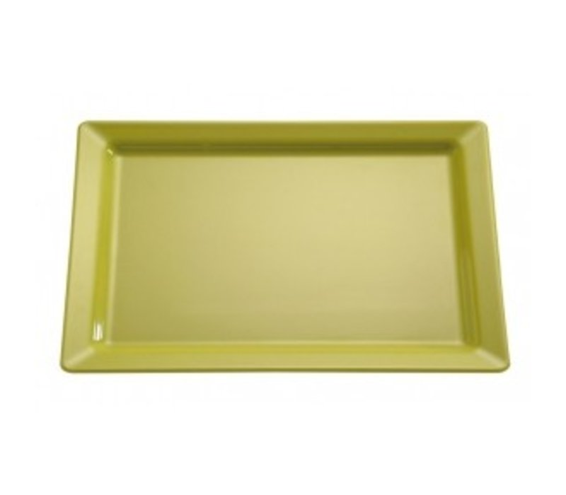 APS Skale Rein | Rechteckig | Melamin Green | GN 1/2 | 325x265 (H) 30 mm