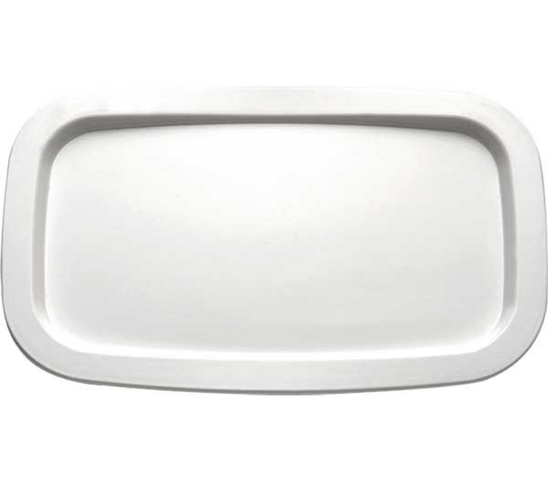 APS Scale | Rectangle | Melamine White | GN 1/4 | 265x162mm