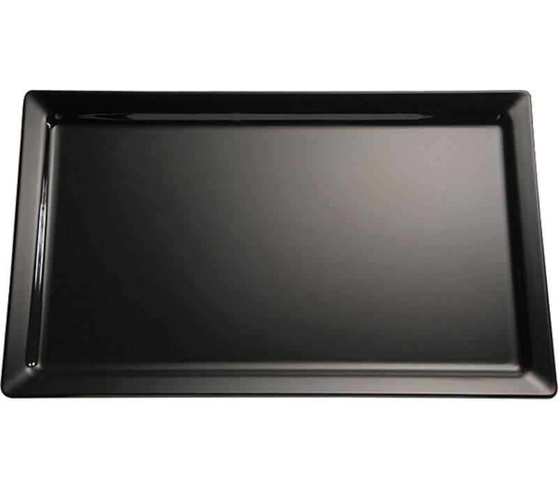 APS Scale | Rectangle | Melamine Black | GN 2/4 | 530x162x (H) 30mm