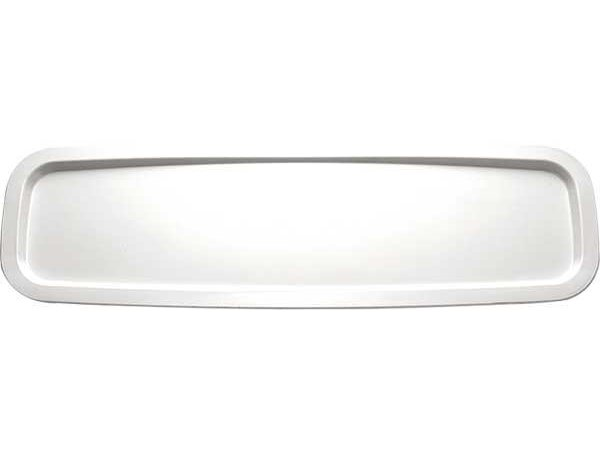 APS Scale Basket GN two quarters | Rectangle | Melamine White | 530x162mm