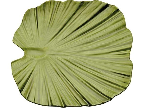 APS Schaal - Natural Collection - Melamine Groen - Vaatwasserbestendig - ca.270x270x45 mm