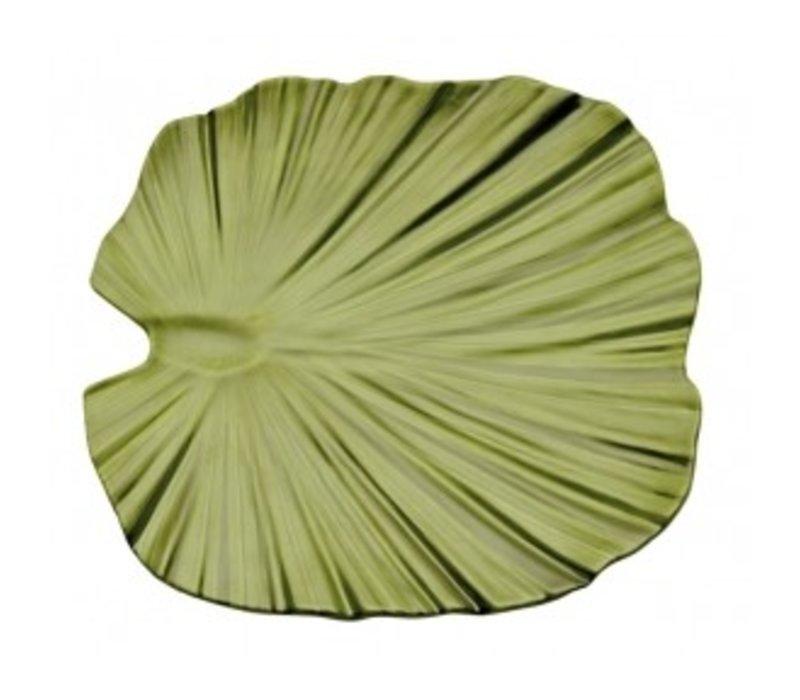 APS Schaal - Natural Collection - Melamine Zwart - Vaatwasserbestendig - ca.420x420x45 mm