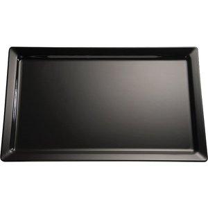 APS Scale Pure | Rectangle | Melamine Black | 600x200x (H) 30mm