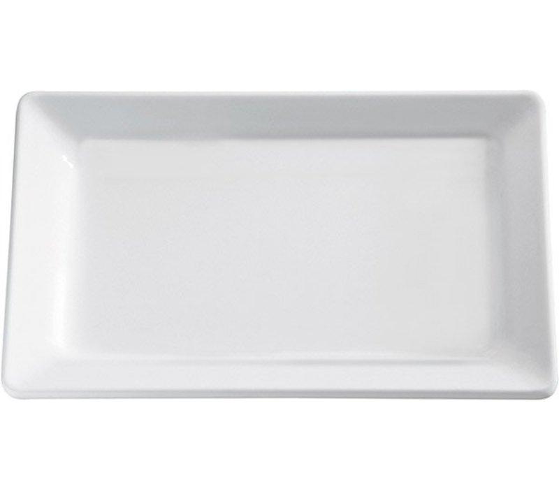 APS Schaal Pure | Rechthoekig | Melamine Wit | 400x300x(H)30mm