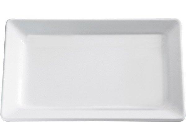 APS Schaal Pure   Rechthoekig   Melamine Wit   600x400x(H)30mm