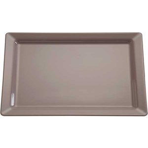 APS Scale Pure | Rectangle | Melamine Taupe / Gray | GN 1/1, 530x325x (H) 30mm