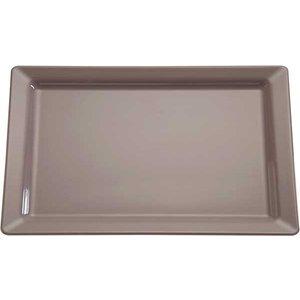 APS Schaal Pure | Rechthoekig | Melamine Taupe/Grijs | GN 1/1, 530x325x(H)30mm