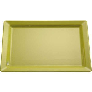 APS Schaal Pure | Rechthoekig | Melamine Groen | GN 1/1 530x325x(H)30mm