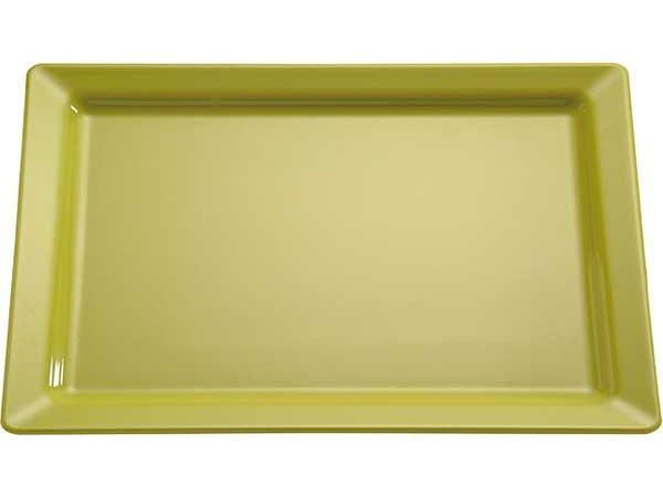 APS Schaal Pure   Rechthoekig   Melamine Groen   GN 1/1 530x325x(H)30mm