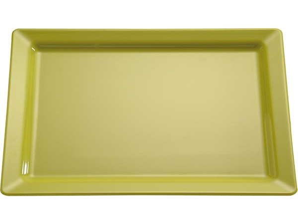 APS Skale Rein | Rechteckig | Melamin Green | GN 1/1 530x325x (H) 30 mm