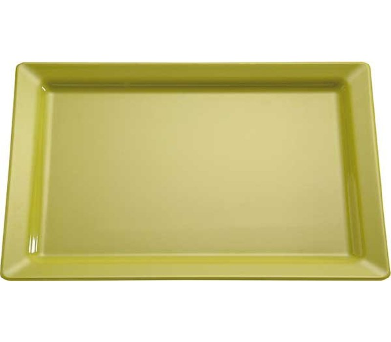 APS Scale Pure | Rectangle | Melamine Green | GN 1/1 530x325x (H) 30mm