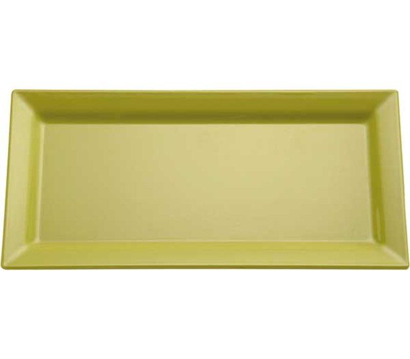 APS Schaal Pure | Rechthoekig | Melamine Groen | 530x180x(H)30mm