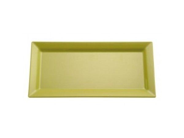APS Schaal Pure | Rechthoekig | Melamine Groen | 355x180x(H)30mm