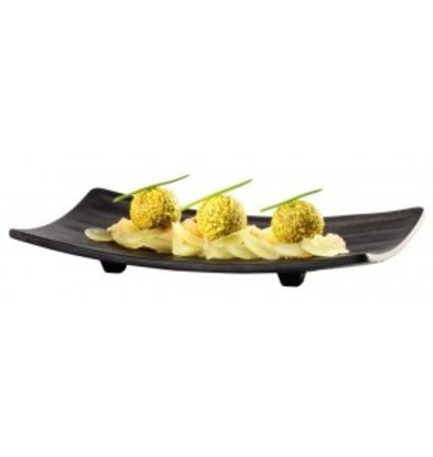 APS Scale rectangular / Sushi Board - Dishwasher safe - about 220x120 (h) 30 mm