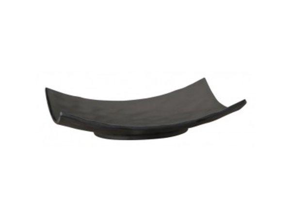 APS Scale - ZEN - Melamine Black - Dishwasher safe - 250x250x (h) 55 mm