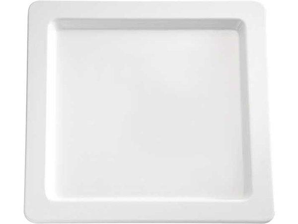 APS Presentatie Schaal | Melamine Wit | vierkant | Duurzaam | 330x330  (h) 25 mm