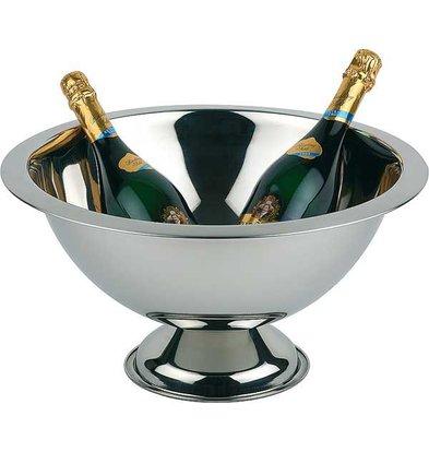 APS Champagne Kom - Gepolijst RVS - Ø45cm x 23(h)cm