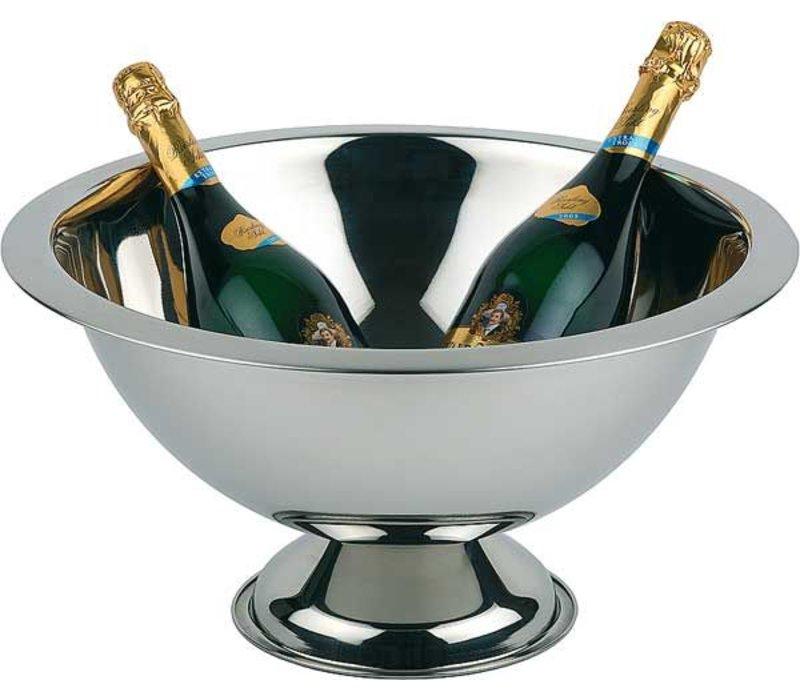 APS Champagne Schale - Edelstahl poliert - Ø45cm x 23 (H) cm