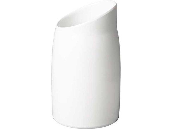 APS Dressing Pot | Melamine White | Contents 1 Liter | Ø 12cm, height 21.5cm