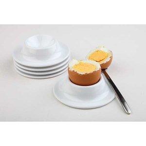 APS Egg Holder | 4-piece set | Melamine White | Ø8,5 cm, height 2cm