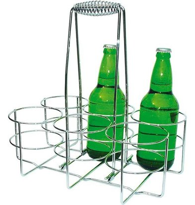 APS Bottle | Chromed metal | 32x21,5x (H) 32,5cm