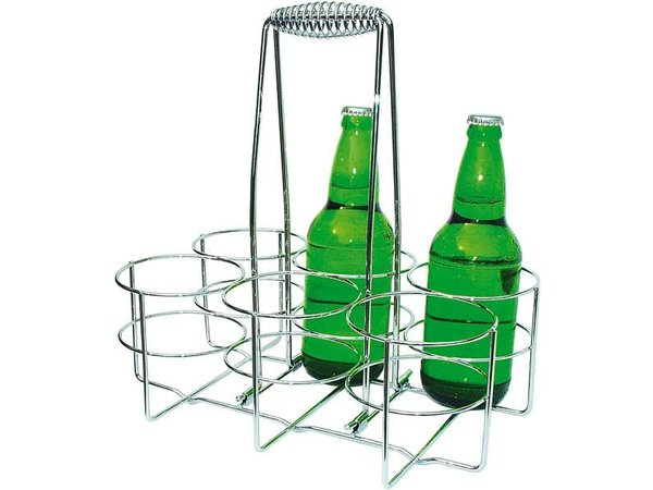 APS Bottle | Chromed metal | 32x21,5x (H) 32,5cm