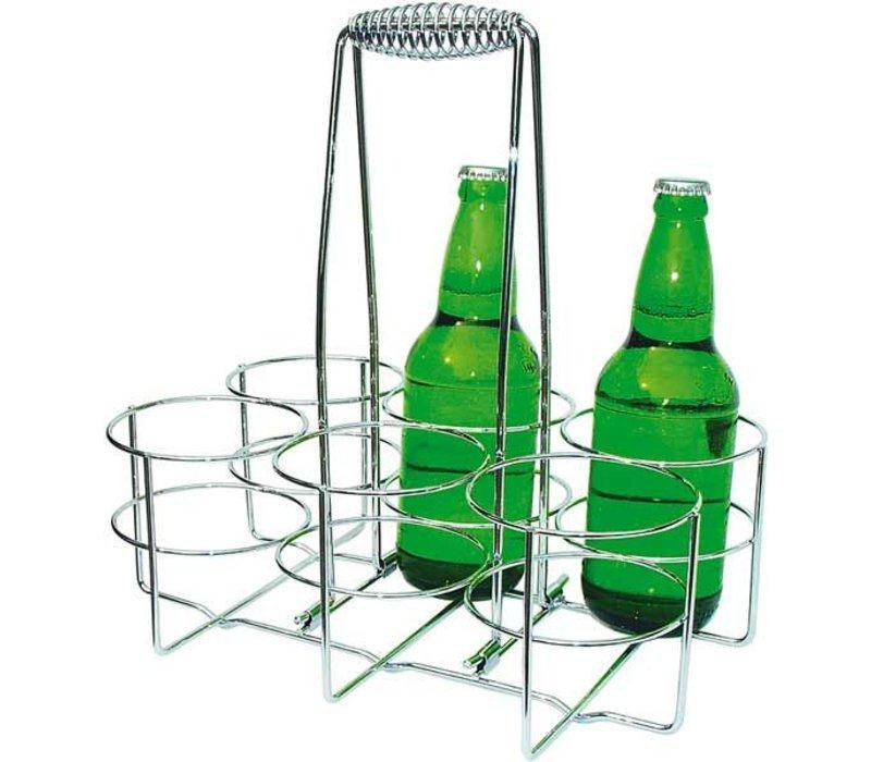 APS Bottle | Verchromtem Metall | 32x21,5x (H) 32,5cm
