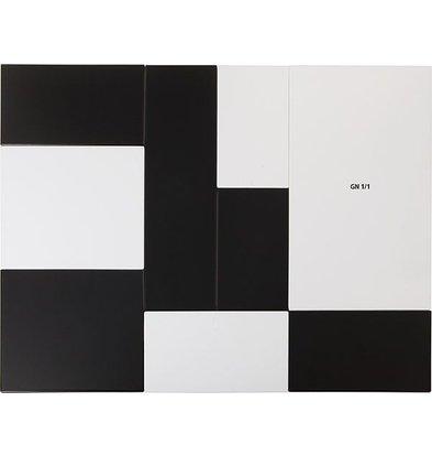 APS Tray Zero | Melamine White | GN 1/1 | 53x32,5x (H) 1.5cm