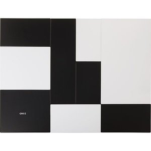 APS Presentatieblad Zero | Melamine Zwart | GN 1/1 | 53x32,5x(H)1,5cm