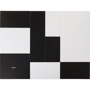APS Tray Null   Melamin Schwarz   GN 1/1   53x32,5x (H) 1,5 cm