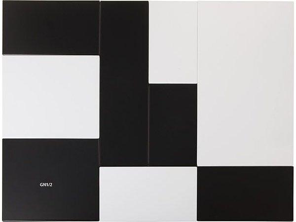 APS Tray Zero   Melamine Black   GN 1/1   53x32,5x (H) 1.5cm