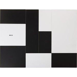 APS Tray Zero | Melamine White | GN 1/2 | 32,5x26,5x (H) 1.5cm
