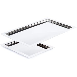 APS Rectangular Stainless Steel Plates | GN 1/2