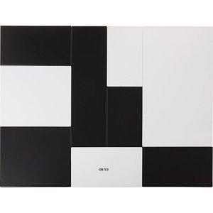 APS Presentatieblad Zero | Melamine Wit | GN 1/3 | 325x176x(H)1,5cm