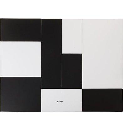 APS Tray Null | Melamin Weiß | GN 1/3 | 325x176x (H) 1,5 cm