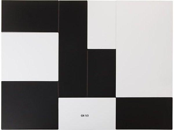 APS Tray Zero   Melamine White   GN 1/3   325x176x (H) 1.5cm