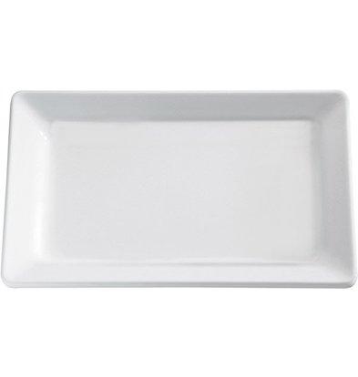 APS Tray Pure | Melamine White | GN 2/3 | 35,4x32,5x (H) 3cm