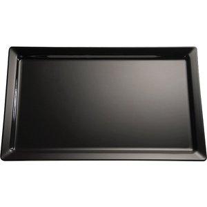 APS Tray Pure | Melamine Black | GN 2/3 | 35,4x32,5x (H) 3cm