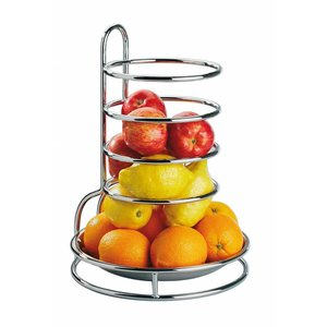 APS Fruits Stainless Steel Cake Stand | Chromed Wire Frame | Ø27,5cm, height 32cm