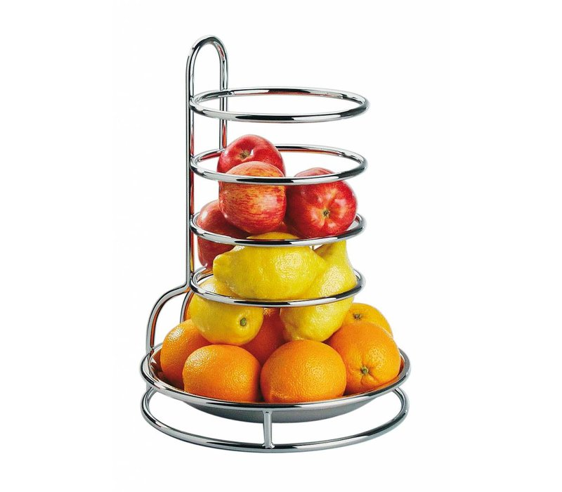 APS Fruits Stainless Steel Cake Stand   Chromed Wire Frame   Ø27,5cm, height 32cm