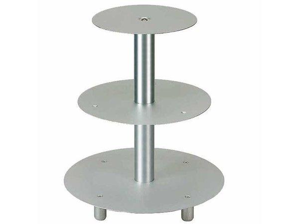 APS Pastry Norm | 3 Stück | Aluminium | Ø 20/26 / 32cm