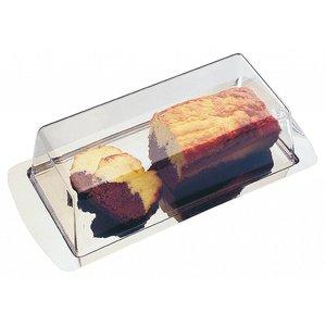 APS Kuchenständer | Edelstahl | 370x160mm, Höhe 100 mm