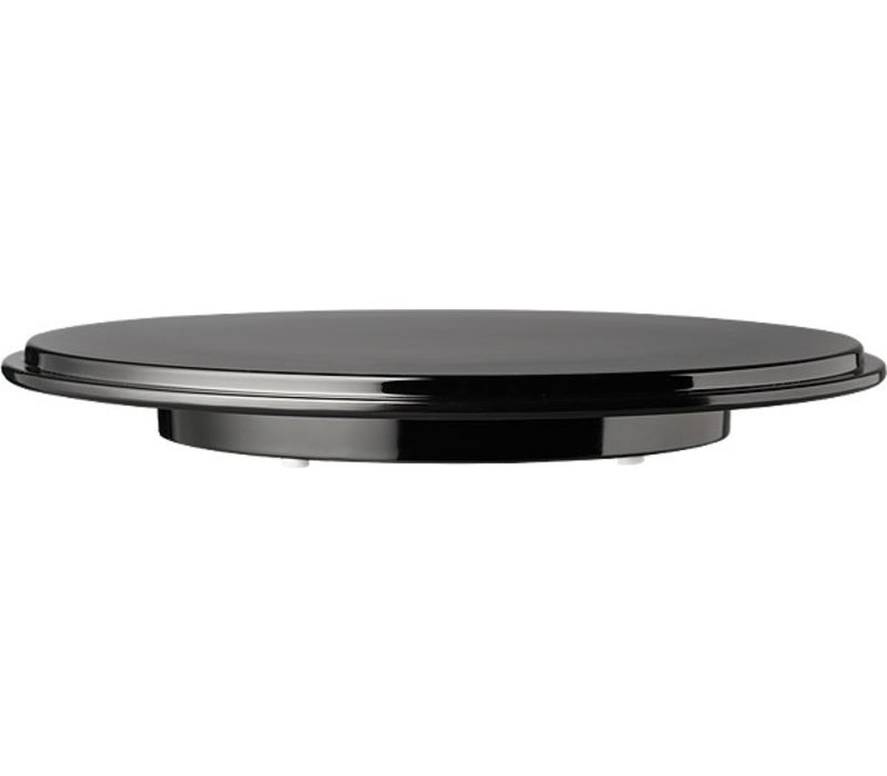 APS Kuchenständer | Melamin Schwarz | Ø310mm, Höhe: 40 mm