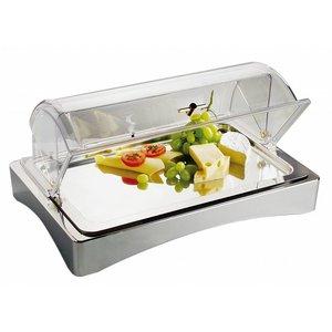 "APS Kühlbox | GN 1/1 | Aus Edelstahl 18/10 | ""Top Fresh '| ca. 565x360 mm | Höhe 85mm"