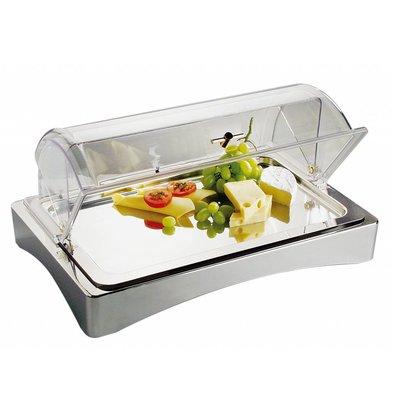 APS Koelbox   GN 1/1   18/10 RVS   'Top Fresh'   ca. 565x360 mm   Hoogte 85mm