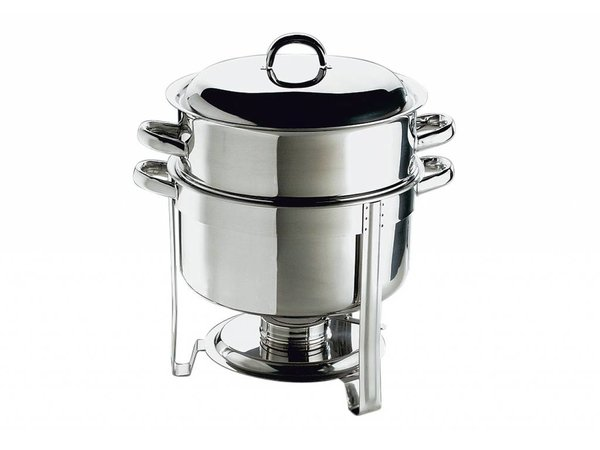 APS Chafing Dish Set / Soup Pot | Stainless steel | 13.5 Liter | Around 33x (H) 35cm