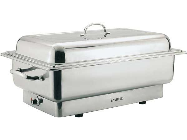 APS Electric Chafing Dish | SS | Inox Star | 620x350x (H) 290mm