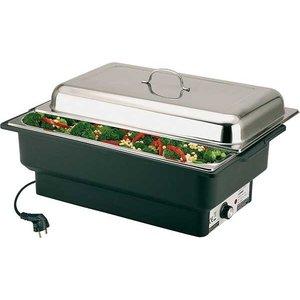 APS Elektrische Chafing Dish Eco | Einstellbare Temperatur | 630x360x (H) 290mm